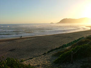 Sedgefield Beach at Sunset